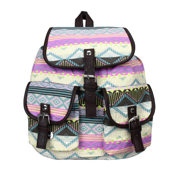 Backpacks Bags For Girl Travel Ladies Casual Satchel Canvas Backpack Bookbags School Bag Boho Style Rucksack mochilas coleg feminina - Gisselle Morales