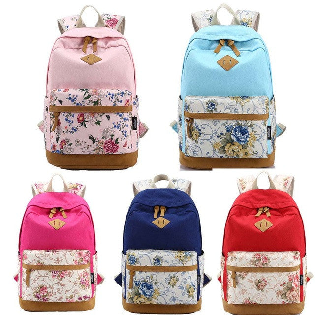 Backpack Bags For Unisex Vintage japan Canvas Backpacks Rucksack Casual School Satchel Hot Bag Bookbag mochila feminina - Gisselle Morales