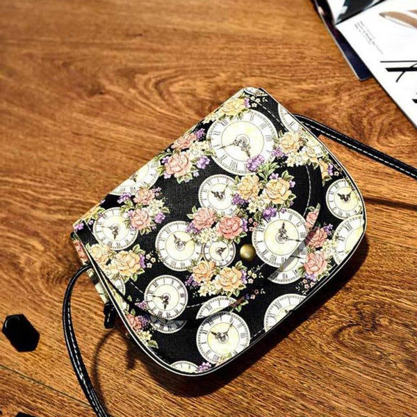 Xiniu Boho Style bag floral bags for Boho Style leather shoulder bags Ladies Small Square Bag 6M - Gisselle Morales