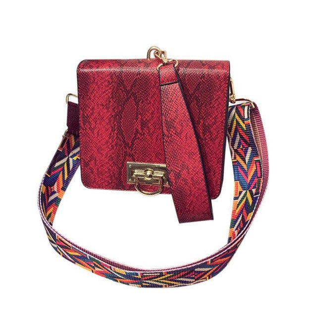 Xiniu brand Boho Style messenger bags small leather handbag for Boho Style Shoulder Bag 5M - Gisselle Morales