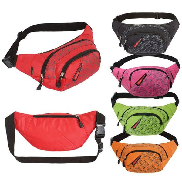Waist Packs For Crossbody Shoulder Bag Chest Waterproof Nylon Solid Casual Waist Bag mochila feminina SIWU - Gisselle Morales