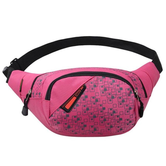 Waist Packs For Crossbody Shoulder Bag Chest Waterproof Nylon Solid Casual Waist Bag mochila feminina SIWU