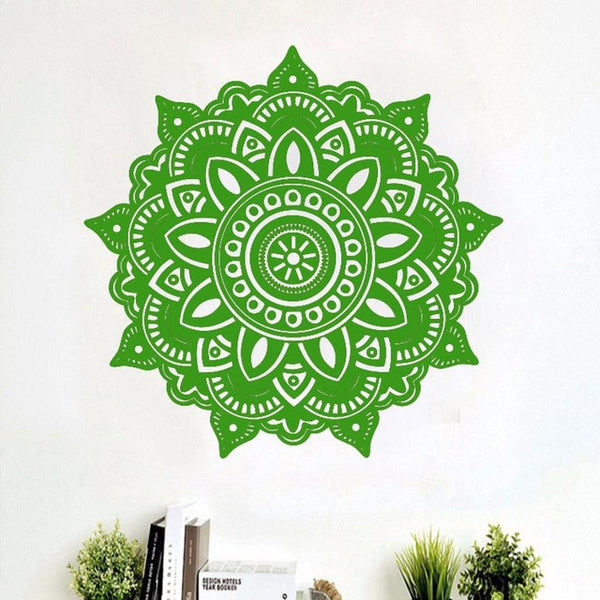 Mandala Flower Indian Bedroom Wall Decal Art Stickers Wall Stickers for Kids Rooms - Gisselle Morales
