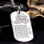 925 Sterling Silver Lotus Pendant S925 Solid Thai Silver Pendants 1 pieces bring Good Luck Pendant Men Jewelry HYP28 - Gisselle Morales