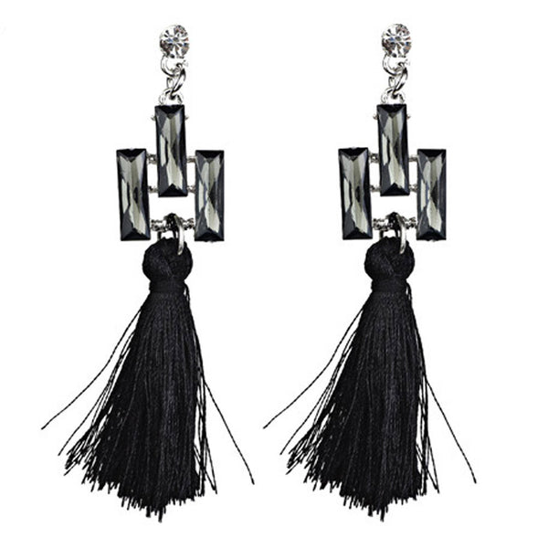 Fashiohn Bohemian Dangle Drop Earrings Vintage StateBoho Stylet Jewelry Ethnic Fringed Earrings Long Tassel Earring For Boho Style GH30