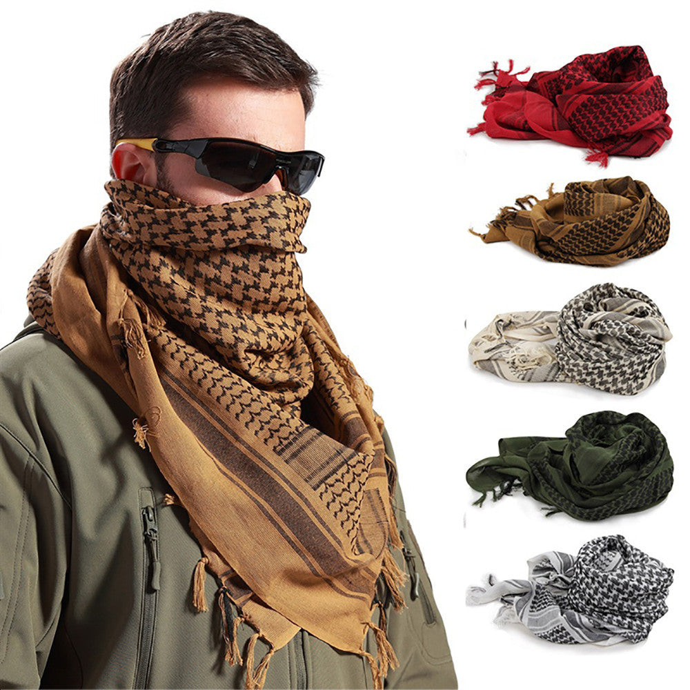 Outdoor Sports Male Boho Style Scarf for Hiking Cycling Windproof Mask Scarf for Head Neck Tactical Hiking Boho Style Scarf S0