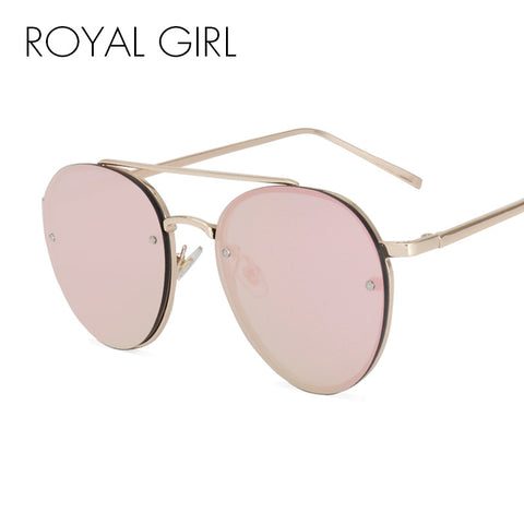 ROYAL GIRL Boho Style Sunglasses Luxury Brand Designer Sunglasses Mirror Sunglasses Ladies Oculos de sol Feminino ss730