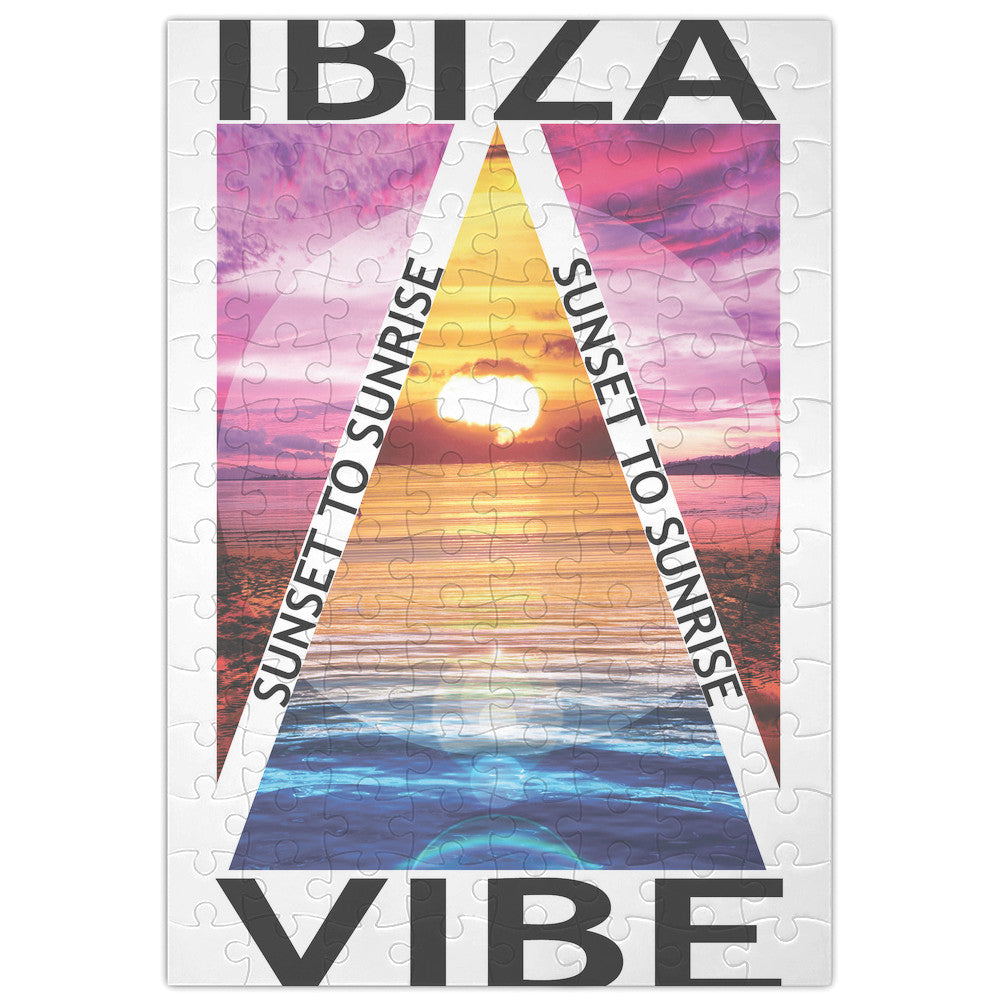 Ibiza Vibe Jigsaw Puzzle Maze| Unique And Custom Learning Games For Kids & Adults| Learning Made Fun With Custom Design & Printed Jigsaw Puzzles