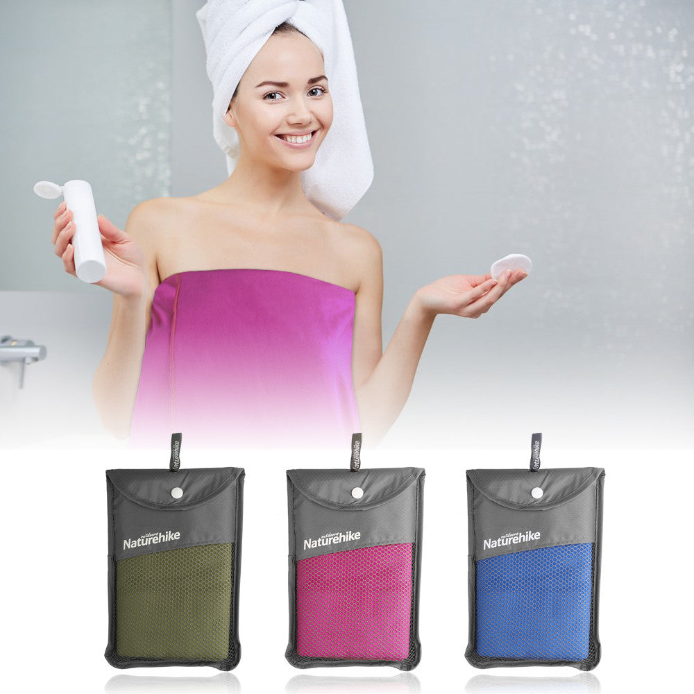 Microfiber Dry Bath Towel Fast Drying for Sports Camping Yoga Swimming Beach Gym Golf (130*70cm)