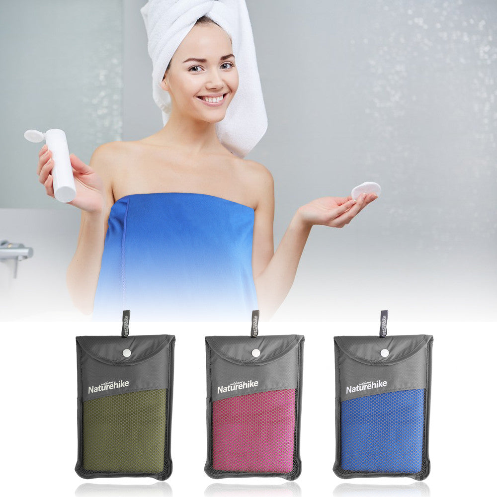 Microfiber Dry Bath Towel Fast Drying for Sports Camping Yoga Swimming Beach Gym Golf (130*70cm) - Gisselle Morales