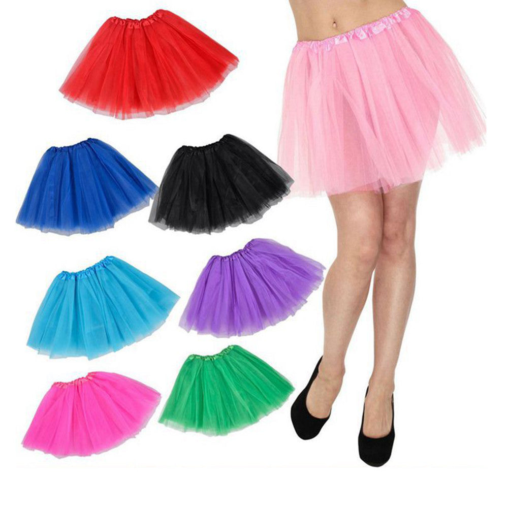 Boho Dress Boho Style Tulle Layered Tutu Skirt Dress for Showing Costume - Gisselle Morales
