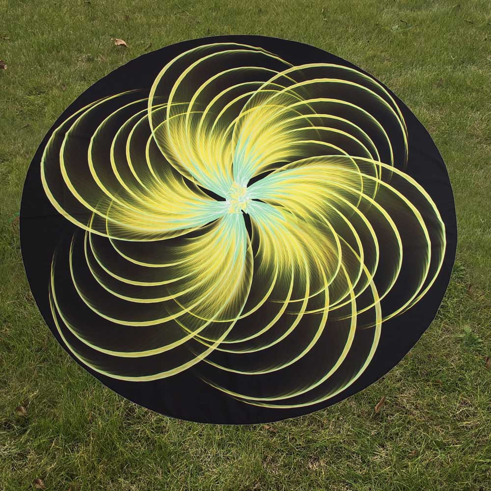 3D Print Pattern Yoga Mat Beach Pool Home Table Cloth Yoga Mat - Gisselle Morales