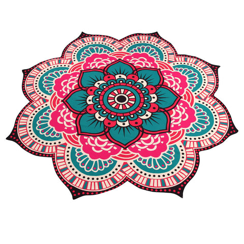 Mandala Towel Yoga Mat Bohemian Beach Pool Home Table Cloth Yoga Mat