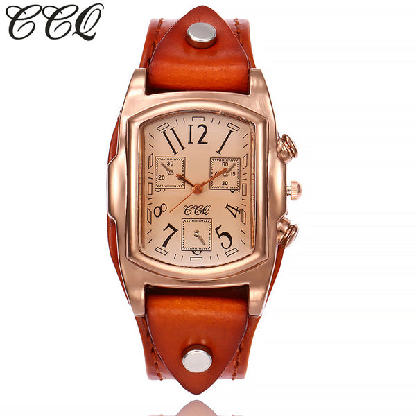 Boho & Hippie Style Watch Casual Quartz Leather Strap Watch Analog - Gisselle Morales