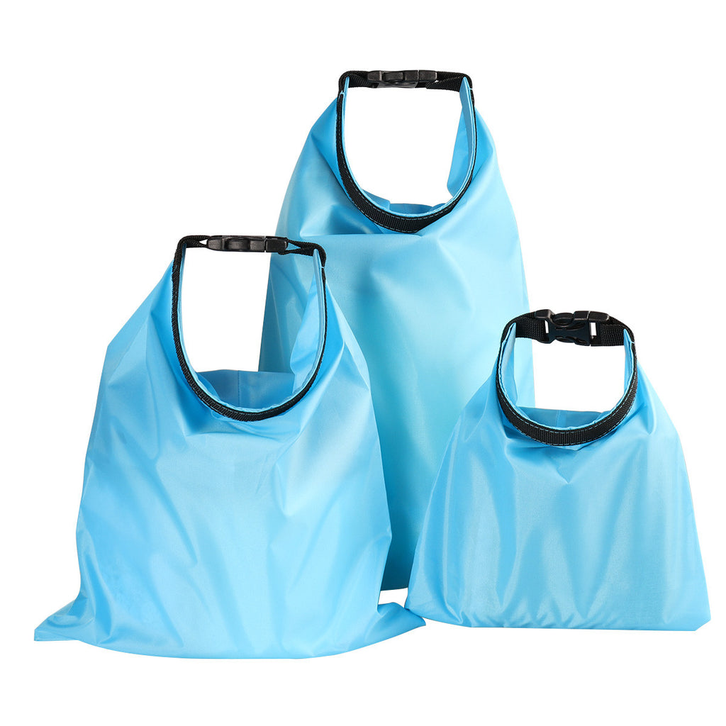 3pcs Waterproof Dry Bag Storage Pouch Bag for Camping Boating Kayaking Rafting Fishing (1.5L+2.5L+3.5L)
