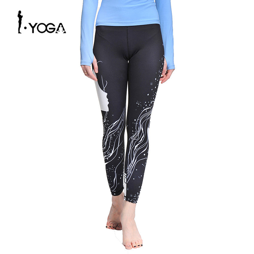 Boho Style Fitness Mesh Running Jogger Tights Training Trousers Quick Dry Compression Sports Gym Yoga Leggings Pants Slim Fit Wear - Gisselle Morales