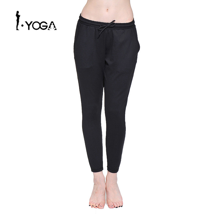 Loose Boho Style Comfortable Sports Wear Yoga Pants Fitness Elastic Waist Running Jogging Female Cloth Gym Workout Trousers