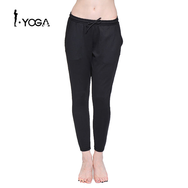 Loose Boho Style Comfortable Sports Wear Yoga Pants Fitness Elastic Waist Running Jogging Female Cloth Gym Workout Trousers - Gisselle Morales