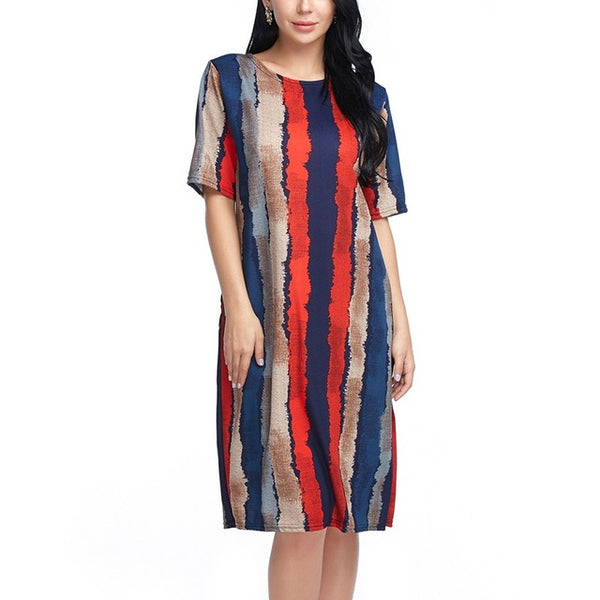 Plus Size Boho Dress Summer Cotton High Quality - Gisselle Morales