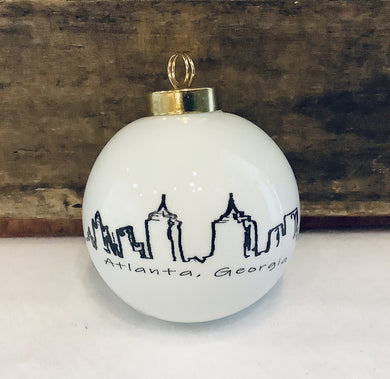 Large Round Atlanta Ornament