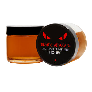 Devil's Advocate - Ghost Pepper Infused Honey - 3oz