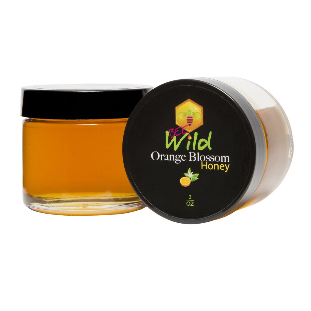 Raw Orange Blossom Honey - 3oz