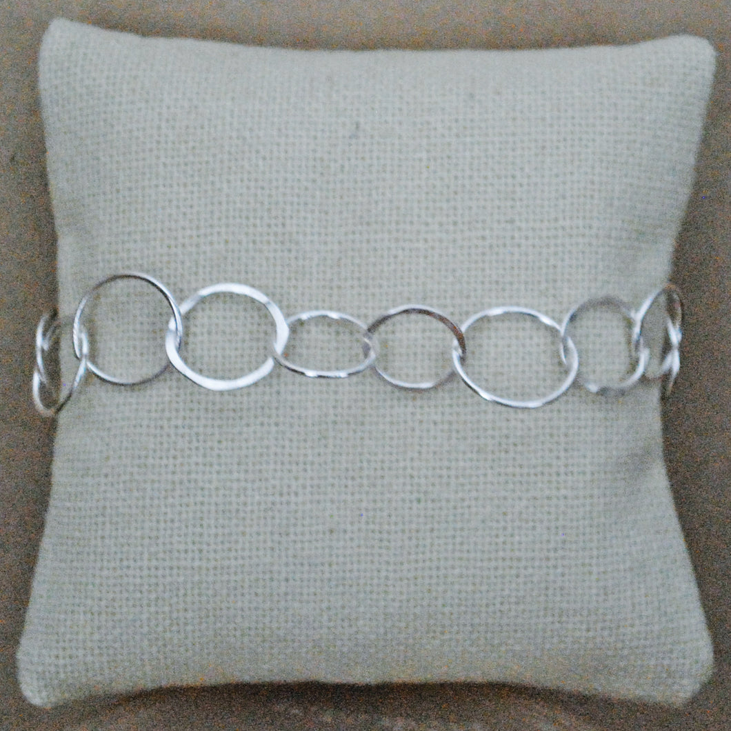 Bubble Bracelet - sterling silver