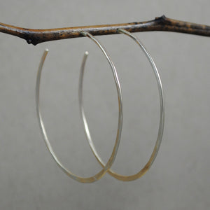 Extra Large Hoop - gold filled
