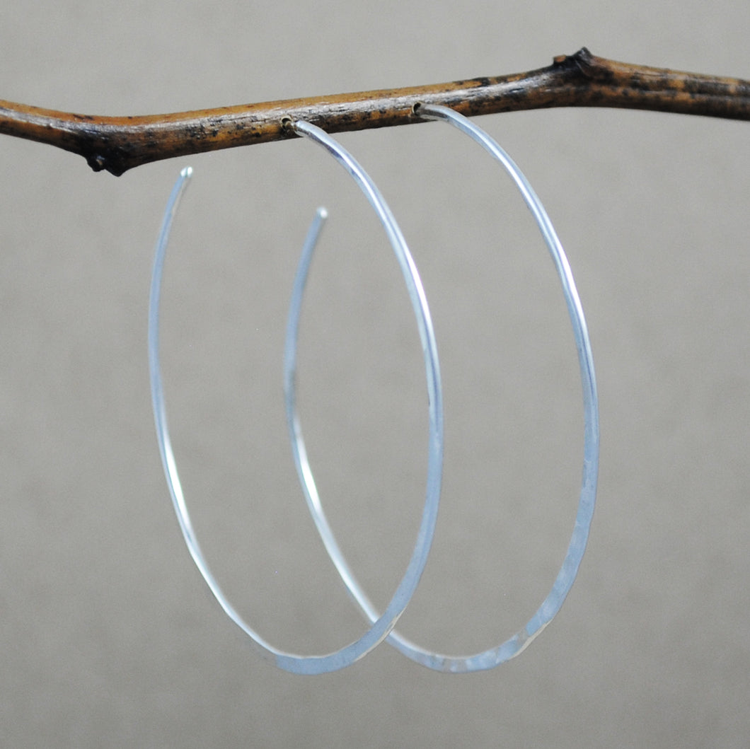 Extra Large Hoop - sterling silver