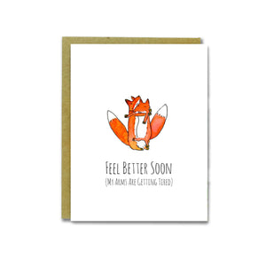 Fox Hug Card