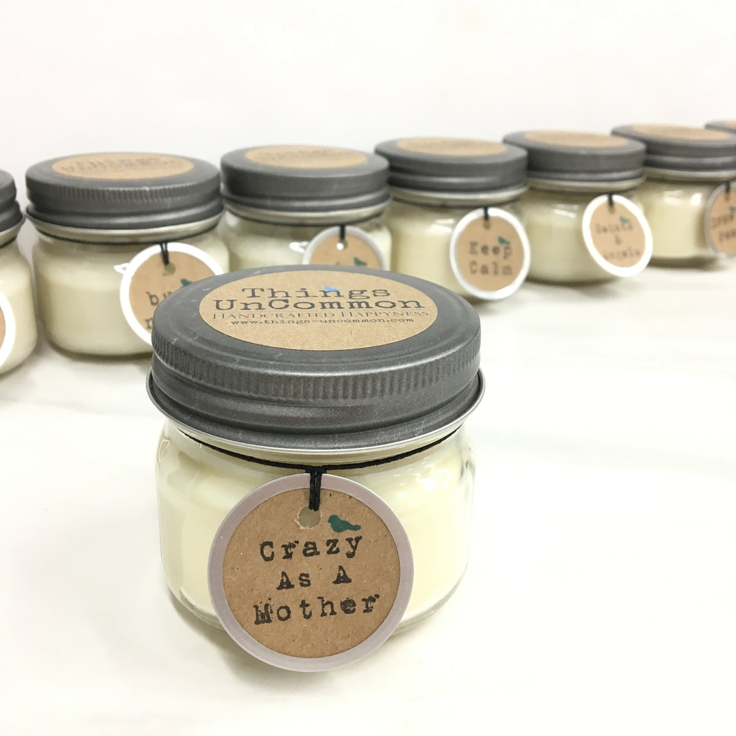 Apothecary Candle - Crazy as a Mother