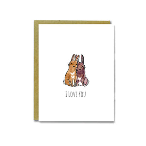 Love Buns Card