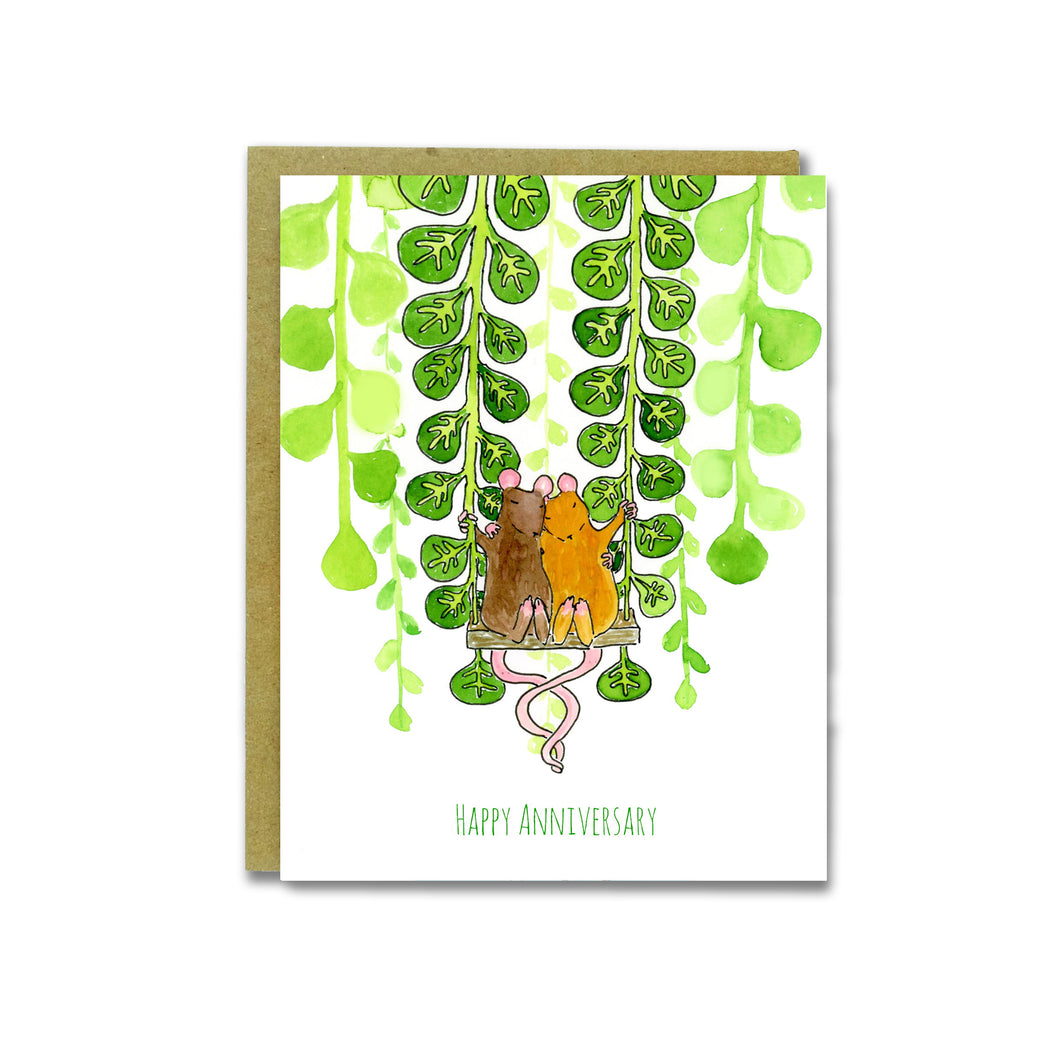 Anniversary Mice Card