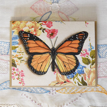 *Notecard - Monarch Butterfly