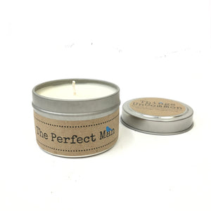 The Perfect Man Candle