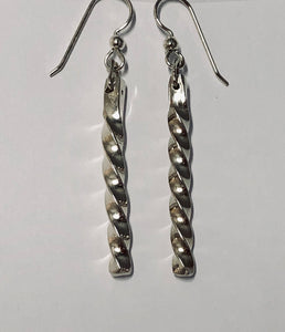 Twisted Sterling Earrings