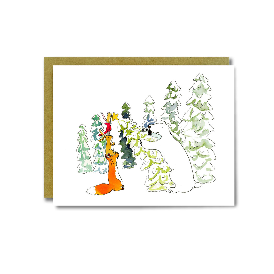 Tree Topping Card