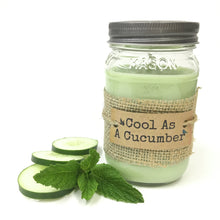 Cool As A Cucumber Candle