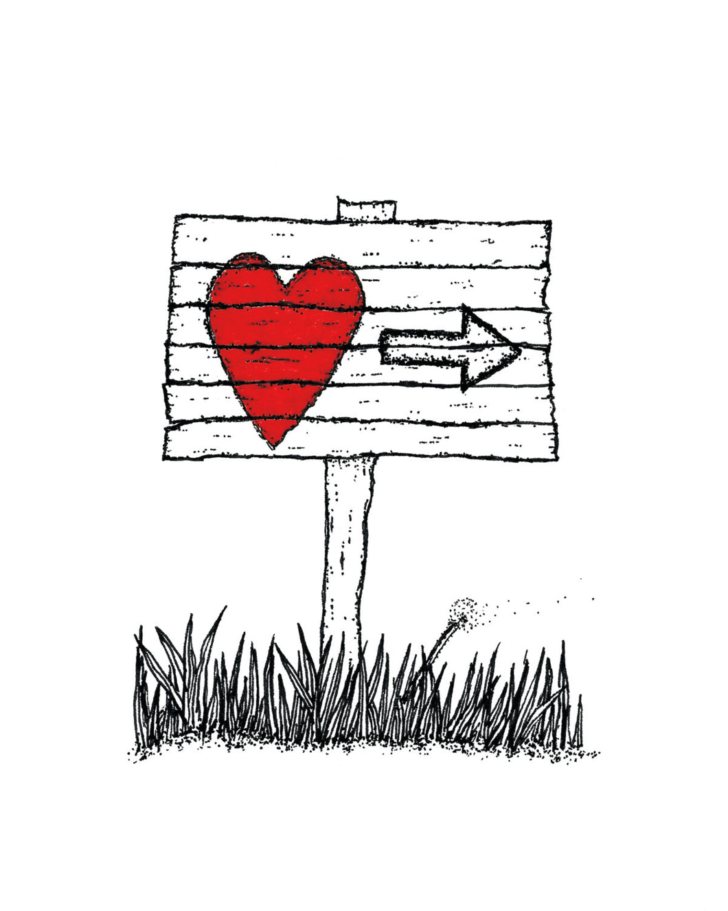 Creatures of the Heart print - Follow the Signs
