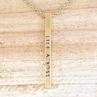 'Like A Boss' Necklace