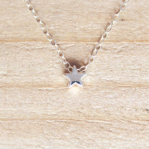Star Necklace - Sterling Silver