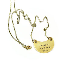 'Fries Before Guys' Necklace