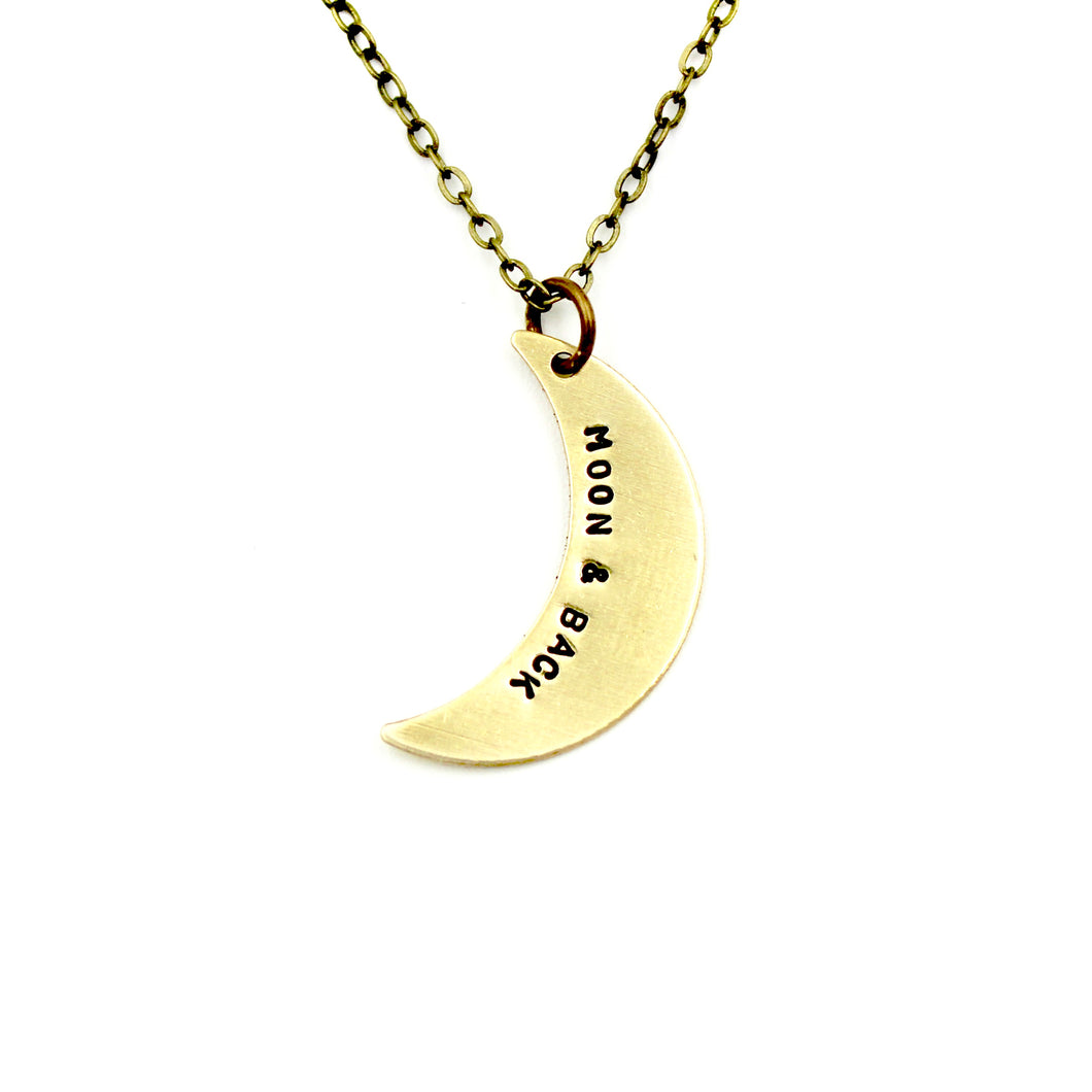 'Moon & Back' Necklace