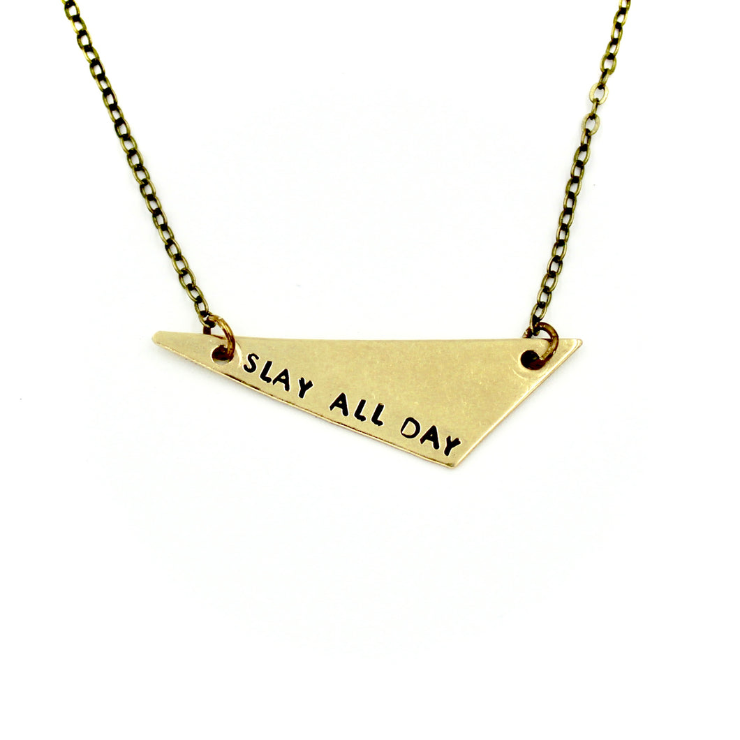 'Slay All Day' Necklace