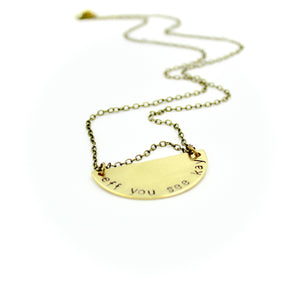 'Eff You See Kay' Necklace