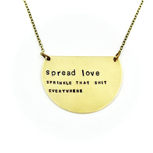 'Spread Love' Necklace