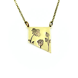 Asymmetrical Garden Necklace