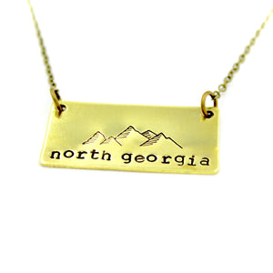 'North Georgia'  Necklace