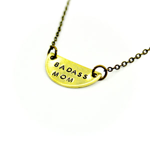 'Badass Mom' Necklace