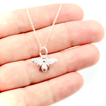 Bee Necklace - Sterling Silver